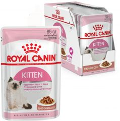 Royal Canin Kitten Instinctive в соусе консервированный корм для котят до 12 месяцев