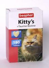 Beaphar Kittys Taurin&Biotin - витамины для кошек