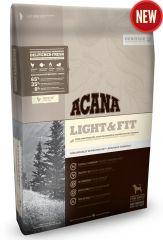 Acana (Акана) Light & Fit - сухой корм для взрослых собак с избыточным весом