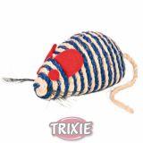 Мышка (джут+кошачья мята)  Trixie TX-4074
