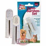 Зубная щетка-насадка на палец Trixie TX-2550