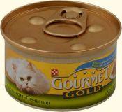 Gourmet Gold (Гурмет Голд ) корм консервы для кошек кусочки в соусе с кроликом по французски