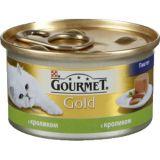 Gourmet Gold (Гурмет Голд ) корм консервы для кошек паштет с кроликом
