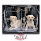 Клетка для собак оцинкованная транспортная двухместная Trixie, TX-3930