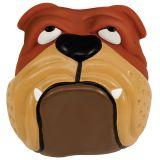 Petstages виниловая игрушка для собаки - голова бульдога, pt610