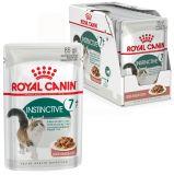 Royal Canin Instinctive +7 влажный консерва корм для пожилых кошек старше 7 лет (пауч)