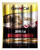 Gimcat Sticks мясные палочки для кошек с индейкой и дрожжами