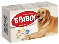 Браво - витамины и минералы для больших собак. Артериум