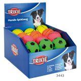 Резиновый мяч для собак цветной Trixie 3443
