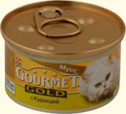 Gourmet Gold (Гурмет Голд ) корм консервы для кошек паштет с курицей
