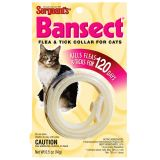 Sergeants БАНСЕКТ (Bansect) ошейник от блох и клещей для кошек