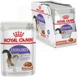 Royal Canin  Sterilised консервированный корм для стерилизованных кошек старше 1 года (тонкие кусочки в соусе)