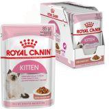 Royal Canin Kitten Instinctive консервированный влажный корм в соусе для котят до 12 месяцев