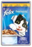 Felix Fantastic (Феликс Фантастик) 100 гр корм консерва для кошек кусочки с курицей в желе пауч