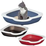 Угловой открытый туалет для кошек, пластик Imac Fred АЙМАК ФРЭД