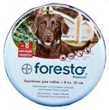 Bayer Foresto Форесто ошейник от блох и клещей для собак 70 см