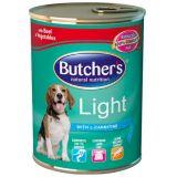 Butchers Light Консервы для собак с избыточным весом (ягененок и рис)