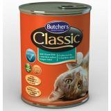 Butcher's Classic Бутчерс консерва с океанической рыбой для кошек