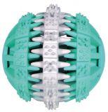 Игрушка для собак мяч с шипами Denta Fun (резина с мятой) Трикси 32941-32942