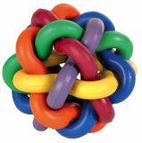 Мяч клубок разноцветный для собак Трикси 32621-32622