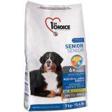 1st Choice (Фест Чойс) Senior 6+ Medium & Large Breed - сухой супер премиум корм для пожилых или малоактивных собак средних и крупных пород старше 6 лет  (курица)