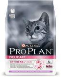 Purina Pro Plan (Про План) Delicate Adult Turkey & Rice сухой суперпремиум корм для взрослых кошек с чувствительной кожей и пищеварением