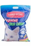 Силикагелевый наполнитель для кошачьего туалета Long Feng Crystal Cat Litter