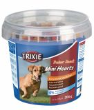 Лакомство для собак всех пород с птицей, ягненком и лососем Trainer Snack Mini Hearts Trixie 31524