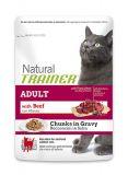 Trainer NATURAL (Нейчирал Трейнер) Super Premium ADULT With Beef Сухой Корм с говядиной для взрослых кошек