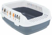 Туалет для кошек с бортиком Delio Трикси 4039