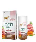 Optimeal for Carnivores Turkey & Vegetables Сухой беззерновой корм для собак Индейка и овощи
