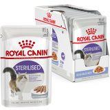 Royal Canin Sterilised (паштет) Консервы для стерилизованных кошек и кастрированных котов