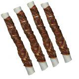 Жевательные рулетики с мясной намоткой из утиной грудки Denta Fun Chewing Rolls with Duck 12 см Трикси 31371