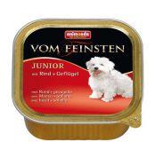 Animonda Vom Feinsten Junior mit Rind Geflugel Консервы для щенков с говядиной и птицей