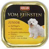 Animonda Vom Feinsten Junior mit Geflugel Putenherzen Консервы для щенков с птицей и индейкой