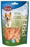 Лакомство для собак всех пород Chicken Coins чипсы курица Трикси 31531