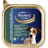Butchers Gastronomia паштет Индейка Дичь Овощи консервы для собак, 150 гр