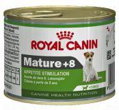 Консерва Роял Канин (Royal Canin) Mature +8 влажный корм консерва для стареющих собак мини пород
