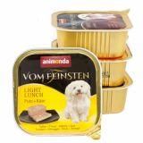Animonda Vom Feinsten Light Lunch Pute Kase Консервы для собак с индейкой и сыром
