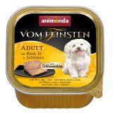 Animonda Vom Feinsten mit Rind, Ei Schinken консервы для собак, с говядиной, яйцом и ветчиной