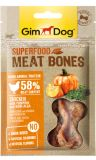 GimDog Superfood Meat Bones Лакомства для собак с курицей, тыквой и нори