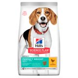 Hill's Science Plan Perfect Weight сухой корм с курицей для взрослых собак средних пород