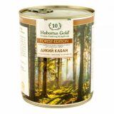 Hubertus (Хубертус) Gold Forest Edition Дикий кабан с картофелем, ежевикой и зеленью консервы для собак 800г