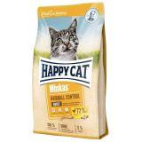Happy Cat (Хэппи Кэт) Minkas Hairball Control. Сухой корм для взрослых кошек с птицей, контроль за образованием комков шерсти в ЖКТ