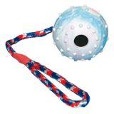 Мяч-радуга на веревке, Trixie TX-330