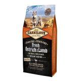 Carnilove (Карнилав) Fresh Ostrich & Lamb for Small Breed Dogs - Сухой корм с мясом страуса и ягненка для взрослых собак малых пород