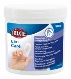 Одноразовые салфетки на палец для чистки ушей для кошек Трикси 29392
