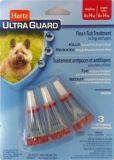 Hartz UltraGuard Капли на холку от блох, клещей и комаров для собак весом от 6 до 14 кг (1,30 мл)