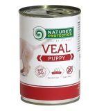 Nature's Protection Puppy Veal Консерва влажный корм для щенков всех пород с телятиной