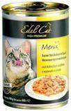 Edel Cat Консерва Влажный корм для кошек с курицей и уткой